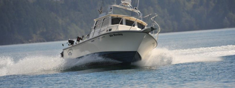 R r fishing charters salmon halibut anacortes bellingham for Halibut fishing charters washington