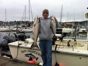 Mar 10 r r fishing charters salmon halibut anacortes for Halibut fishing charters washington
